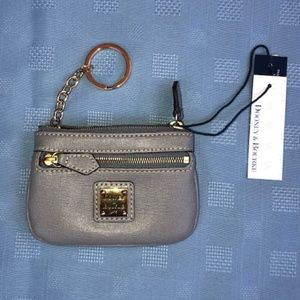 Dooney & Bourke Pebble Small Coin Case.NWT!